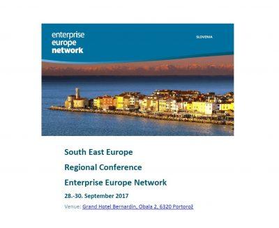 Regionalna konferenca mreže Enterprise Europe Network JV Evrope