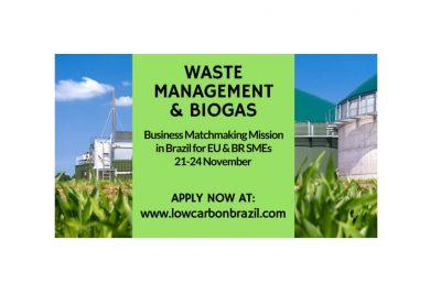 Sodelujte na podjetniški misiji WASTE MANAGMENT & BIOGAS v Braziliji, v okviru sejma WASTE EXPO 2017 - 80% potnih stroškov vam sofinancira EU!