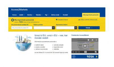 S platformo Access2Market do hitrih informacij o mednarodnem poslovanju