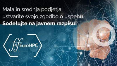 Open Call FF4EuroHPC za mala in srednja podjetja