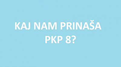 Vlada sprejela predlog PKP8